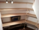 bespoke shelving fitted