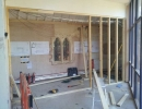 stud partition wall preparation