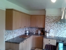 complicated kitchen worktops on uneven walls