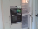 fitted wooden fridge unit
