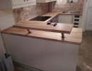 bespoke fitted kitchen units and worktop