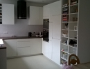 white fitted kitchen complete